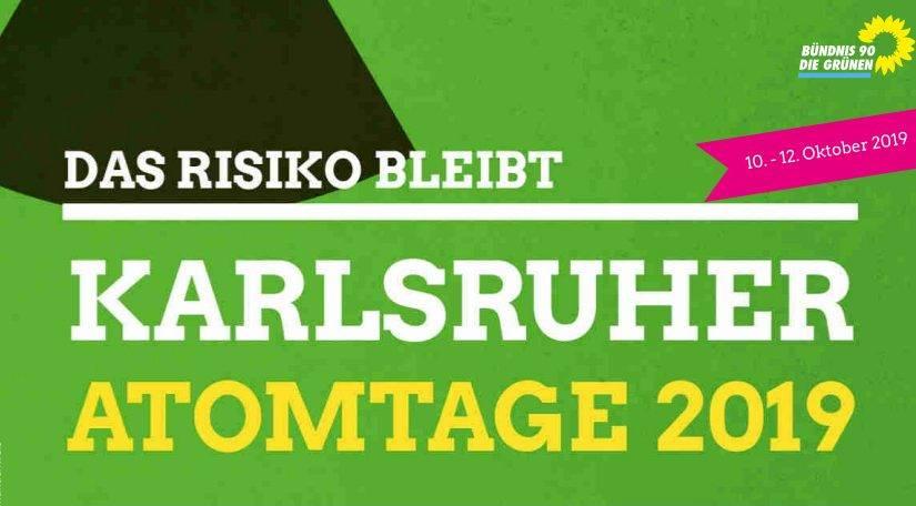 Karlsruher ATOMTAGE 2019 – 10.-12. Oktober