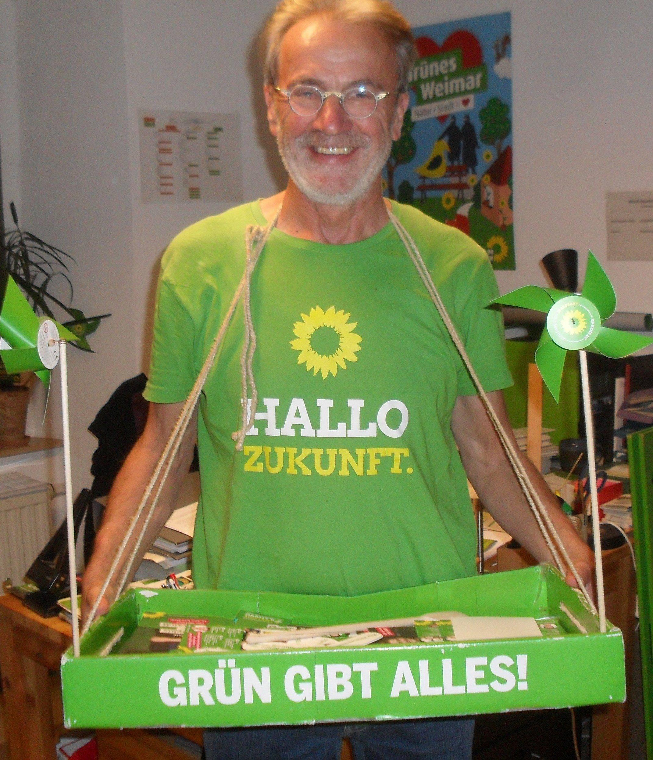 Grün wählen! Für Klimaschutz und Demokratie